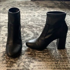 Abound Black Faux Leather Booties